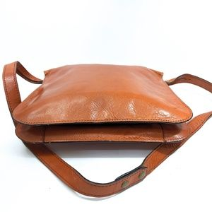 Vintage Bags - Vintage Marforio Cognac Italian Leather Bag